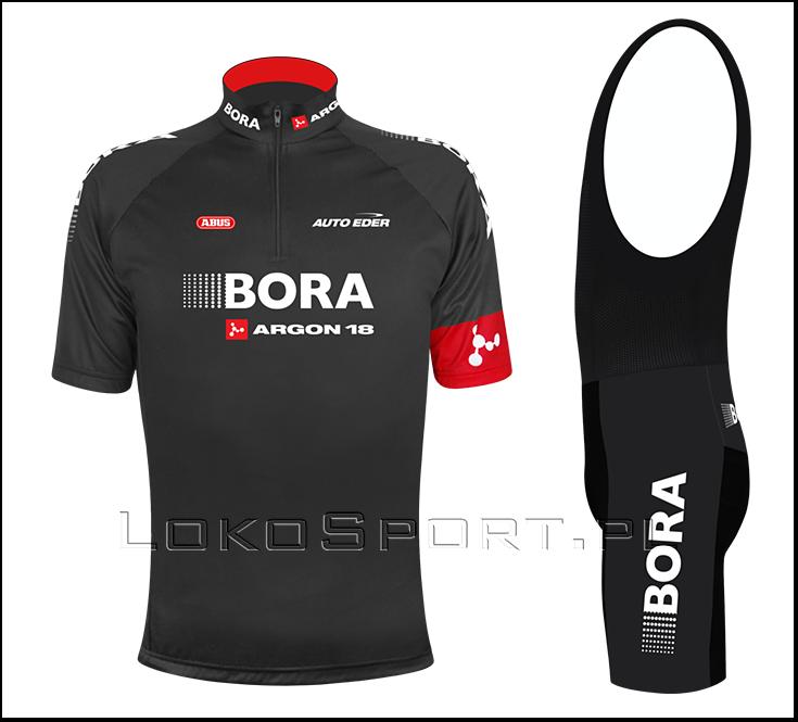 f4a7ccdceb073 Komplet kolarski koszulka i spodenki BORA, Super wkładka